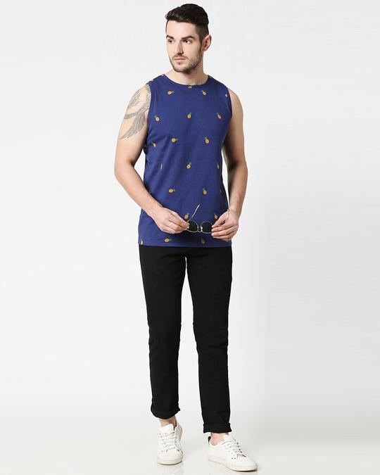 Shop Pineapple AOP Vest