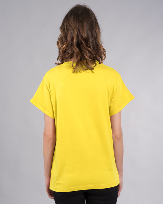 Shop Pineapple Yellow Boyfriend T-Shirt-Full