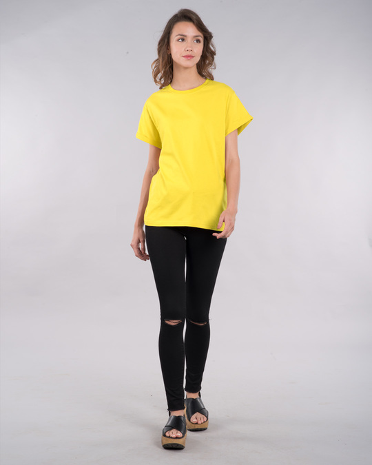 Shop Pineapple Yellow Boyfriend T-Shirt
