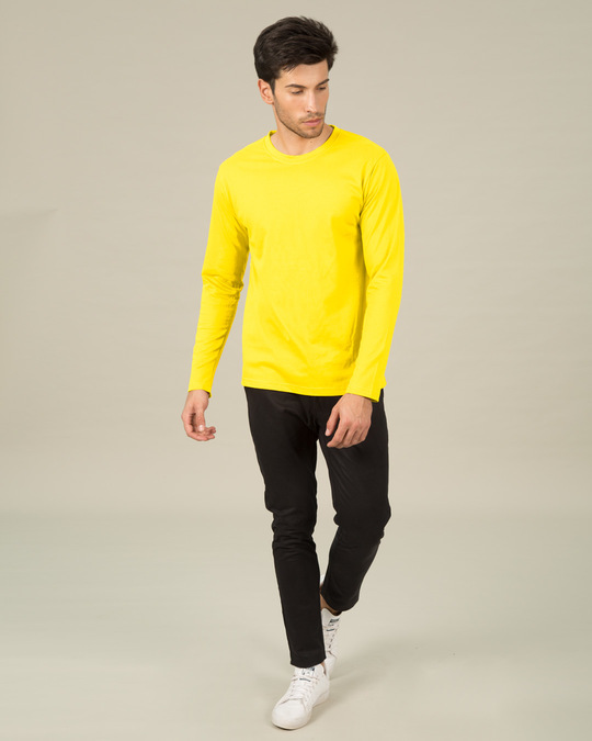 Shop Pineapple Yellow Full Sleeve T-Shirt
