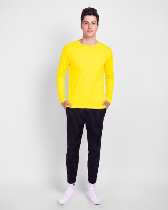 Shop Pineapple Yellow Full Sleeve T-Shirt-Full