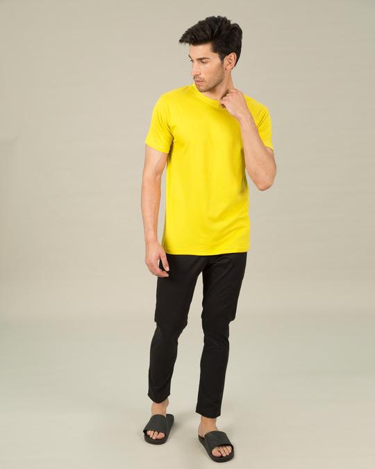 Shop Pineapple Yellow Half Sleeve T-Shirt-Full