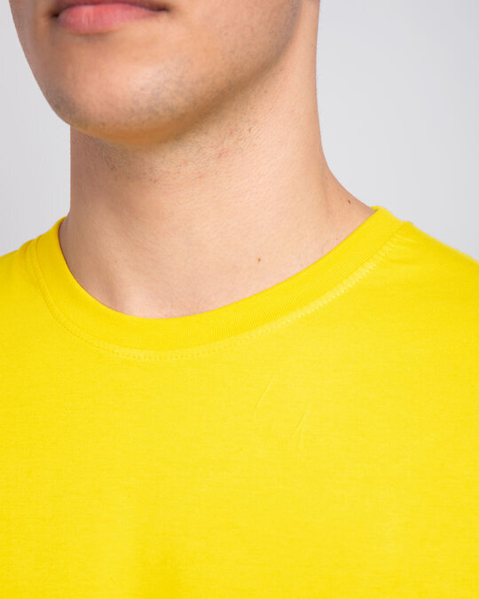 Shop Pineapple Yellow Half Sleeve T-Shirt