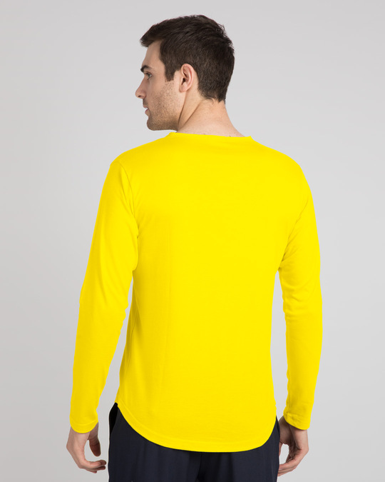 Shop Pineapple Yellow Slit Neck Full Sleeve Henley T-Shirt-Design