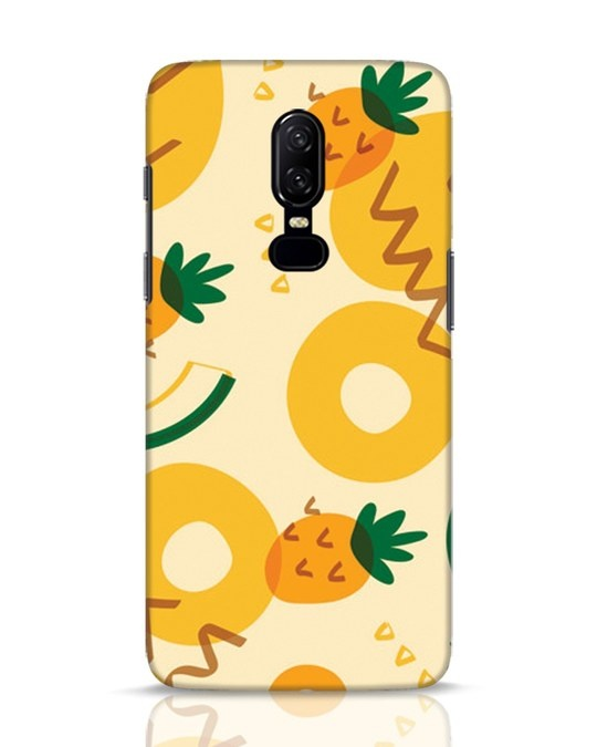 Shop Pineappleabsaop OnePlus 6 Mobile Cover-Front