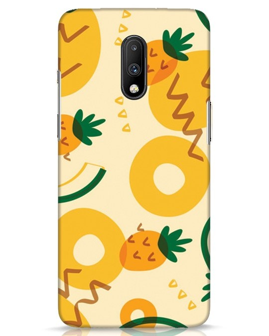 Shop Pineappleabsaop OnePlus 7 Mobile Cover-Front