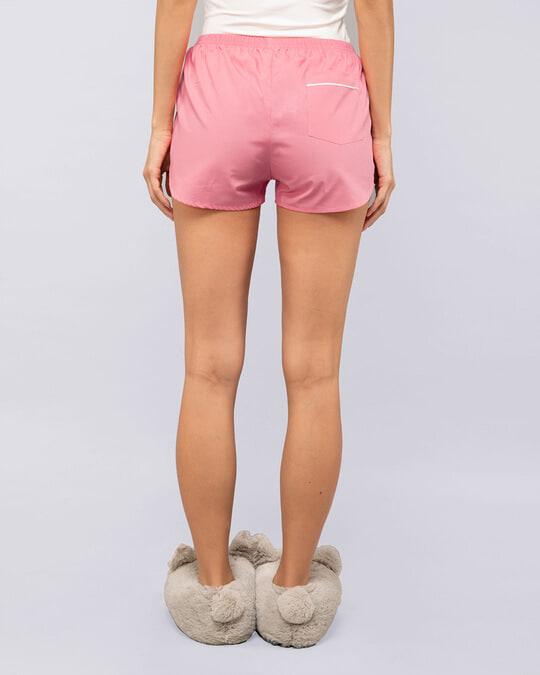 Shop Pink Carnation Jet Black Boxer Combo-Full
