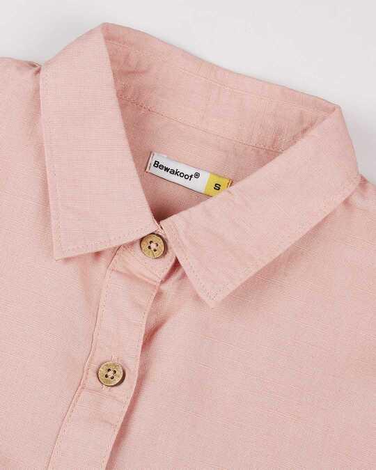 Shop Women's Linen Button Down Shirt Dress with Pockets