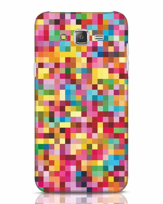 Shop Pixel Pattern Samsung Galaxy J7 Mobile Cover-Front