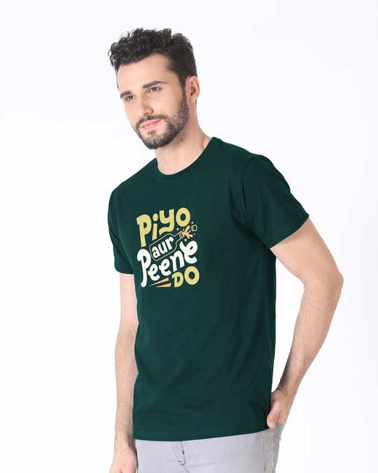 Shop Piyo Aur Peene Do Half Sleeve T-Shirt-Full