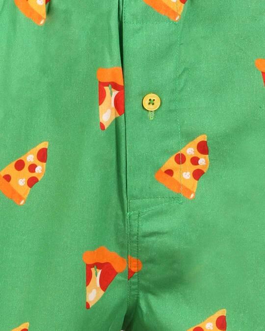 Shop Pizza Boxer Green