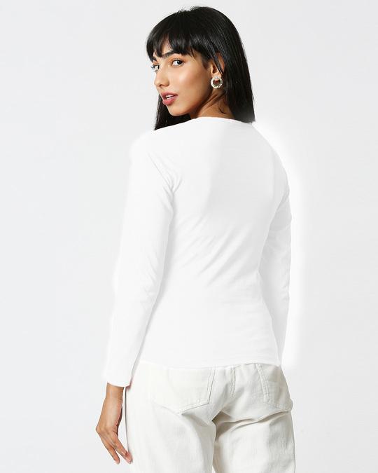Shop Pizza Cat Full Sleeves T Shirt White-Design