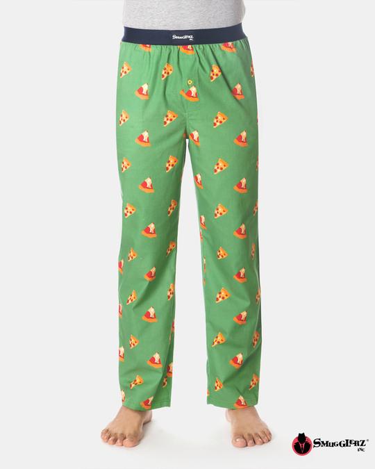 Shop Smugglerz Pizza Pyjamas Green-Front