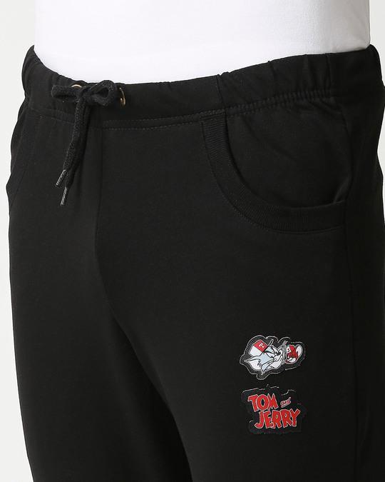 Shop T&J Badge Jogger Pants