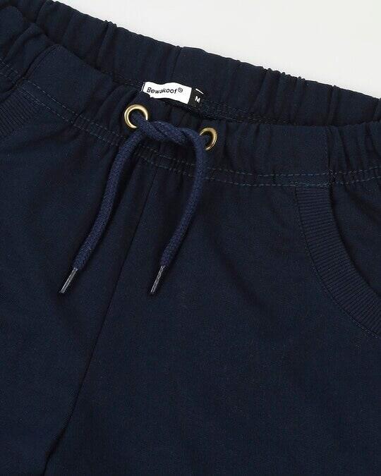 Shop Navy Blue Casual Jogger Pant