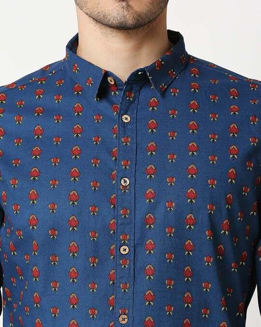 Shop Men's Printed Ethnic Shirt