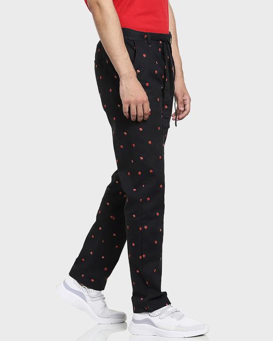 Shop Men's Printed Ethnic Pants-Back