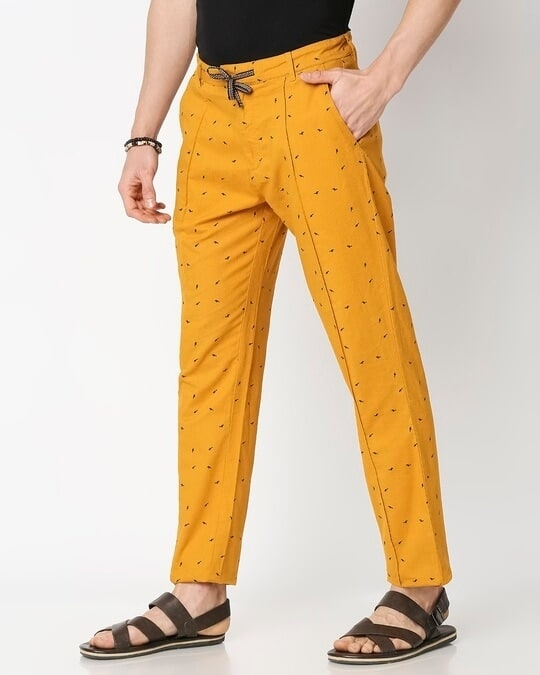 Shop Men's All Over Printed Indo Fusion Pants-Design