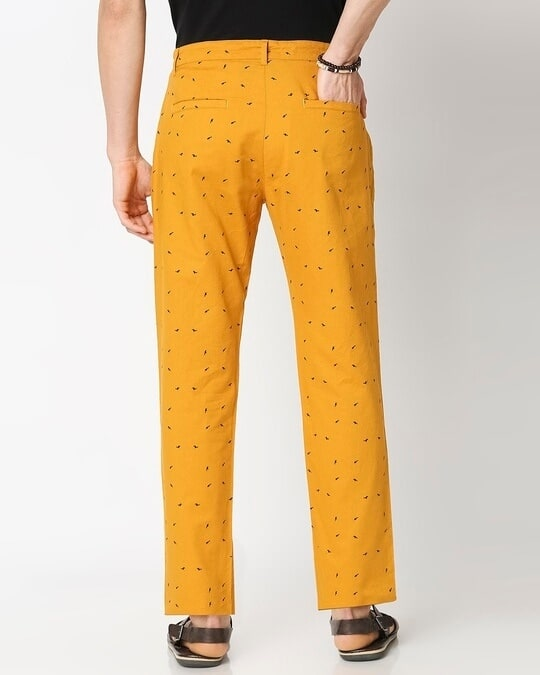 Shop Men's All Over Printed Indo Fusion Pants-Full