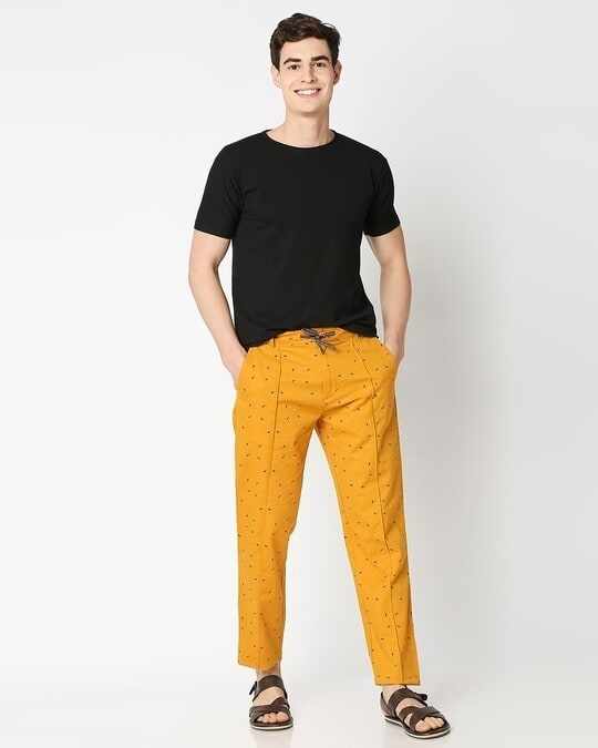 Shop Men's All Over Printed Indo Fusion Pants
