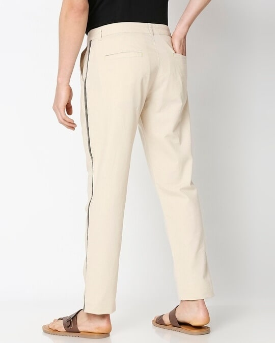 Shop Men's Solid Side Tape Indo Fusion Pants-Full