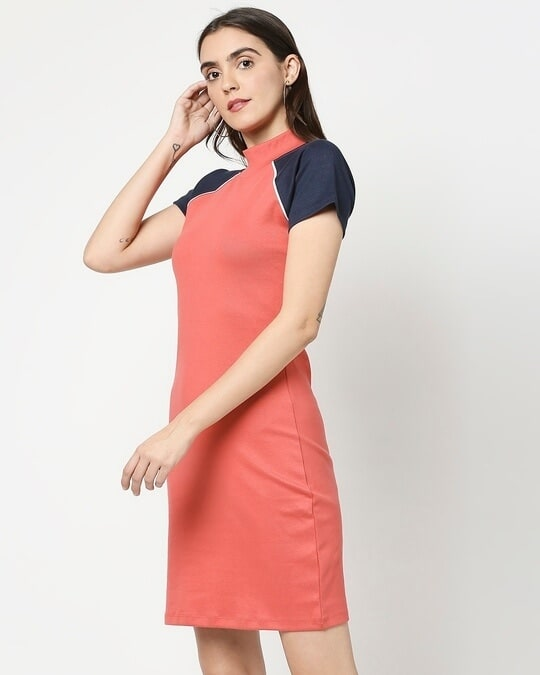 Shop Women's Rib Raglan Dress-Design