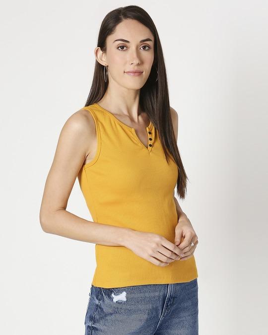 Shop Women's Sleeveless Rib T-Shirt-Front