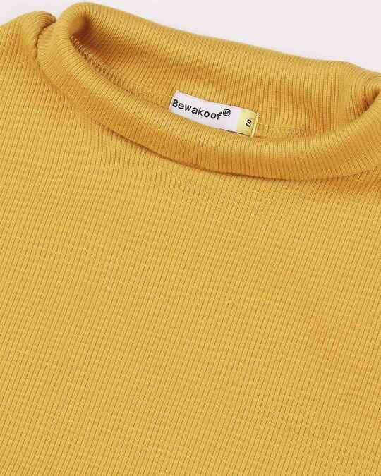 Shop Women's Turtle Neck Full Sleeves T-Shirt