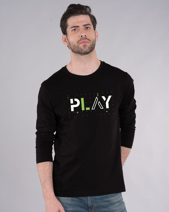Shop Play Full Sleeve T-Shirt-Front