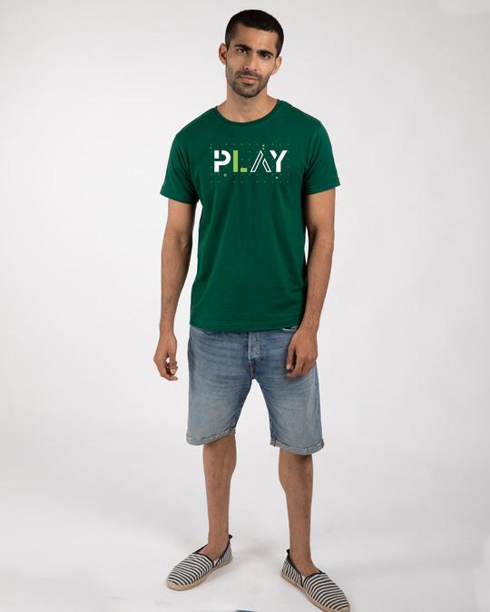 Shop Play Half Sleeve T-Shirt-Design