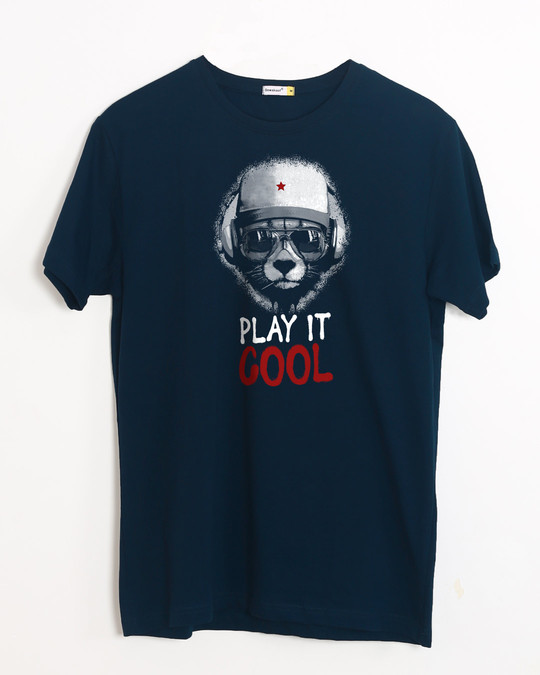 Shop Play It Cool Half Sleeve T-Shirt-Front