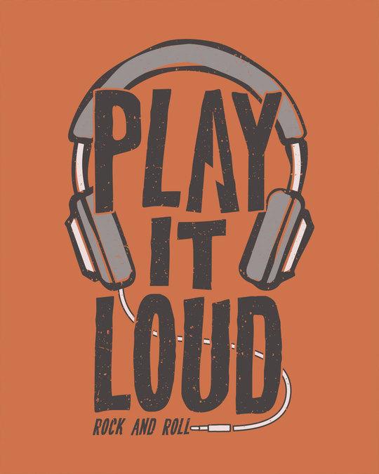 Shop Play It Loud Full Sleeve T-Shirt