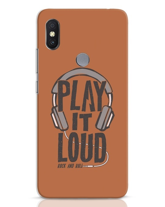 Shop Play It Loud Xiaomi Redmi Y2 Mobile Cover-Front