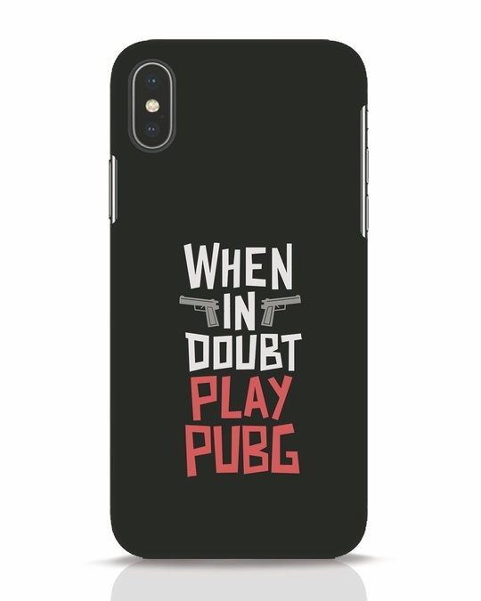 Shop Play Pubg iPhone X Mobile Cover-Front