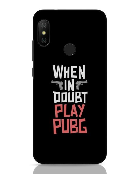 Shop Play Pubg Xiaomi Redmi Note 6 Pro Mobile Cover-Front