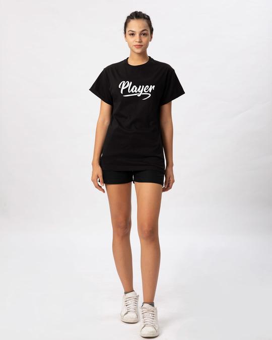Shop Player Typography Boyfriend T-Shirt