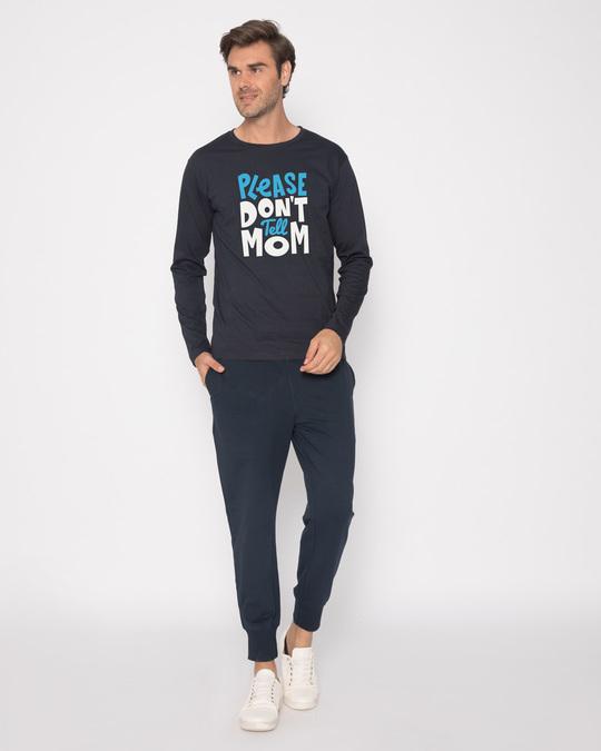 Shop Please Don't Tell Mom Full Sleeve T-Shirt-Full