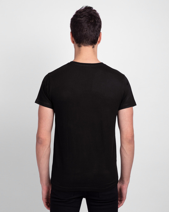 Shop Please Stay Indoors Half Sleeve T-Shirt-Back