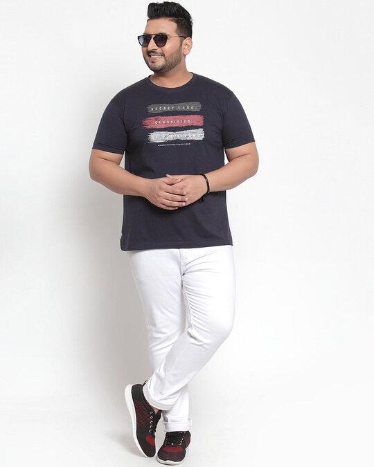 Shop PlusS Men T Shirt Half Sleeves-Full