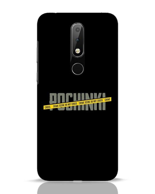 Shop Pochinki Crime Scene Nokia 6.1 Plus Mobile Cover-Front