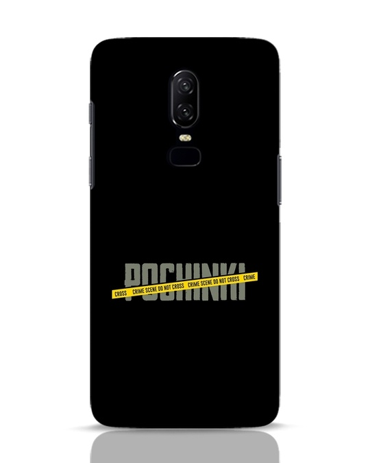 Shop Pochinki Crime Scene OnePlus 6 Mobile Cover-Front