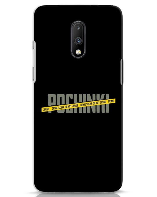 Shop Pochinki Crime Scene OnePlus 7 Mobile Cover-Front