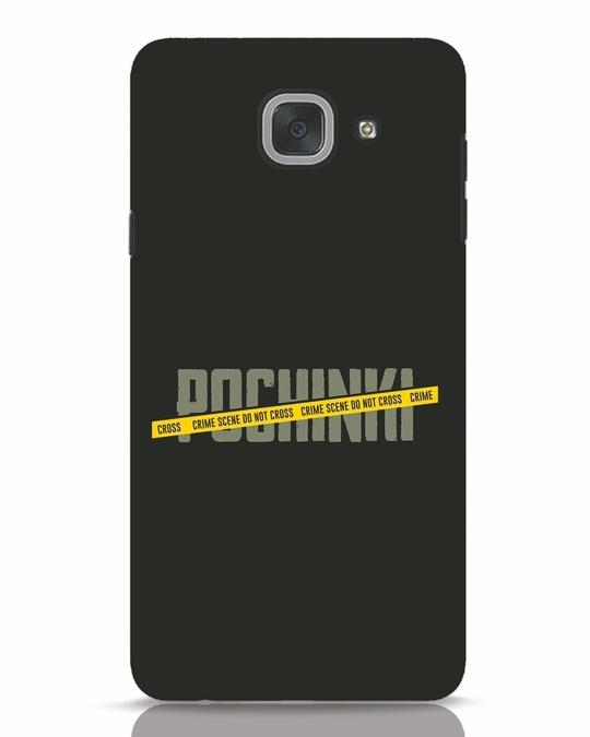 Shop Pochinki Crime Scene Samsung Galaxy J7 Max Mobile Cover-Front