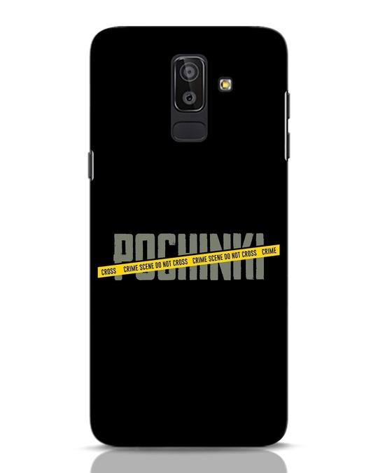 Shop Pochinki Crime Scene Samsung Galaxy J8 Mobile Cover-Front