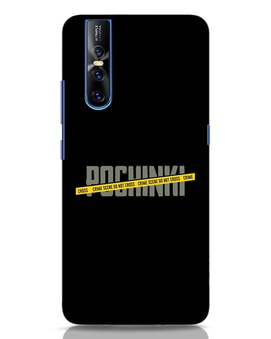 Shop Pochinki Crime Scene Vivo V15 Pro Mobile Cover-Front