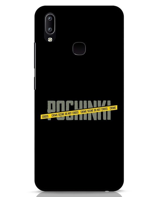 Shop Pochinki Crime Scene Vivo Y91 Mobile Cover-Front