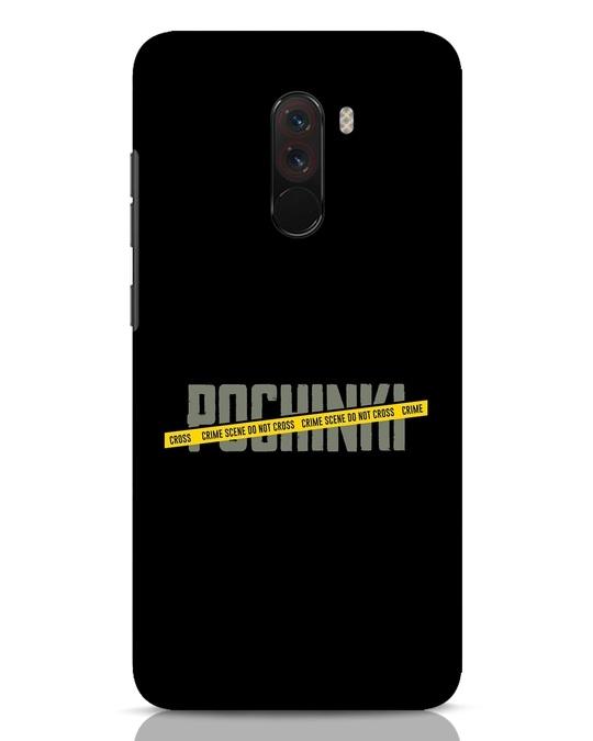 Shop Pochinki Crime Scene Xiaomi POCO F1 Mobile Cover-Front
