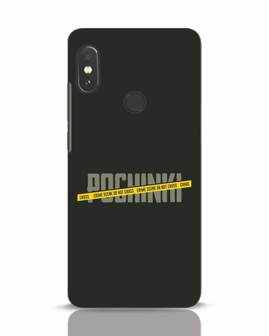 Shop Pochinki Crime Scene Xiaomi Redmi Note 5 Pro Mobile Cover-Front