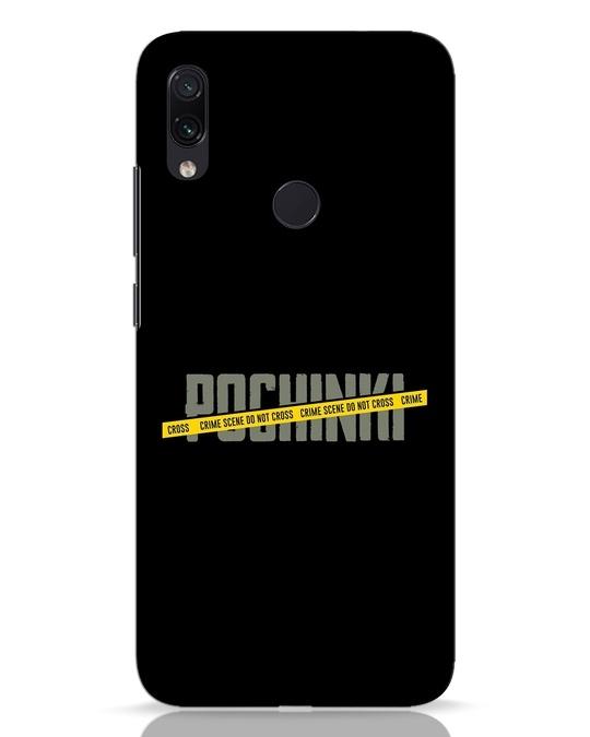 Shop Pochinki Crime Scene Xiaomi Redmi Note 7 Mobile Cover-Front