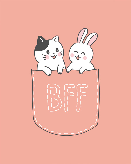 Shop Pocket Bff Boyfriend T-Shirt